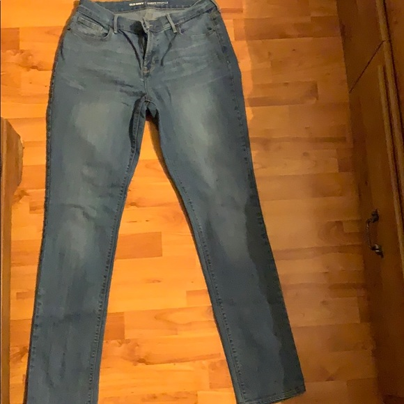 Old Navy Pants - Old Navy Curvy Mid-Rise Straight leg Size 8 Long
